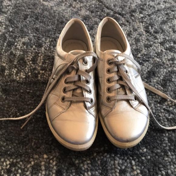 b2459f88bfa02 Ecco Shoes | Silver Golf | Poshmark